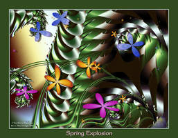 Spring Explosion by rocamiadesign