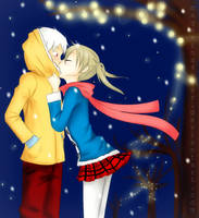SoMa-Kiss Me colored by magakina4ever