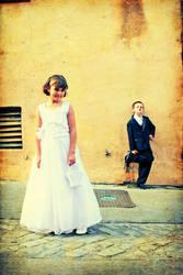 Bride and groom by YSR1