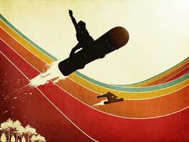 Snowboarding by YSR1