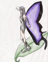 Little Dark Faerie by BleedingRayne