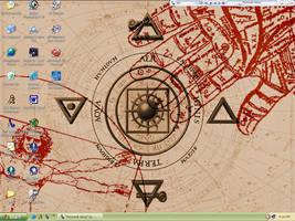 My desktop by BleedingRayne