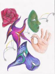 Lovely Masquerade: Experiment by BleedingRayne