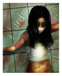 Girl, Disturbed by BleedingRayne