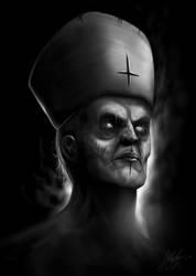 Satanic Priest by liquid-venom