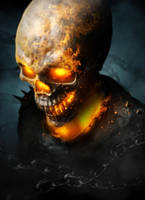 The Curse Of Johnny Blaze by liquid-venom
