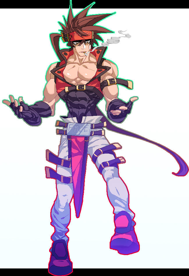 Sol Badguy Sprite By Na Insoo On Deviantart