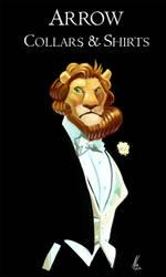 Elegant Lion by Crisjofreart