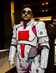 Me in Phoenix Armor at DragonCon 2013 by Frijoleluna