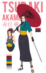 Tsubaki Akame by tsurugami