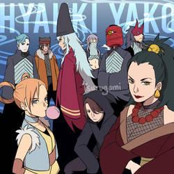 VILLAINS - HYAKKI YAKO by tsurugami