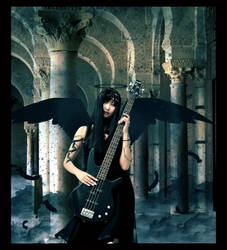 Gothic Angel by urumi13