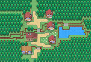 Oldoak Town by Rayquaza-dot