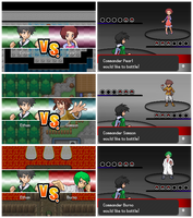 PkMn Commander Sequences by Rayquaza-dot