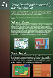 Game Development Monthly - Issue #1 by Rayquaza-dot