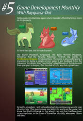 Game Development Monthly - Issue #5 by Rayquaza-dot