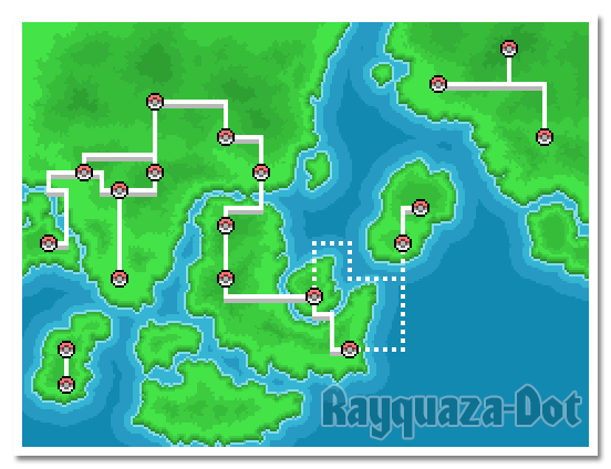 Sericoh Region Map by Rayquaza-dot
