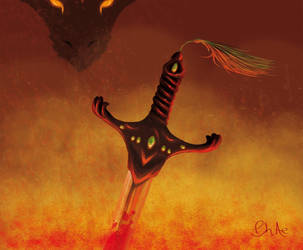 Fire Sword by Phae-Lynn