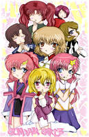 Gundam Girls by Hikazumi