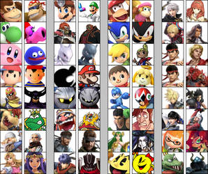 Super Smash Bros. Ultimate More Echo Fighter Ideas by Timnaka