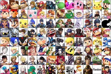Super Smash Bros. Ultimate Roster (16.08.2018) by Timnaka