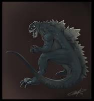 Godzilla by AlexDRomero