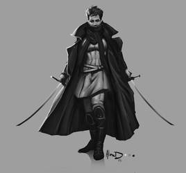 Vampire Hunter by AlexDRomero