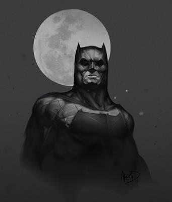 Batman by AlexDRomero