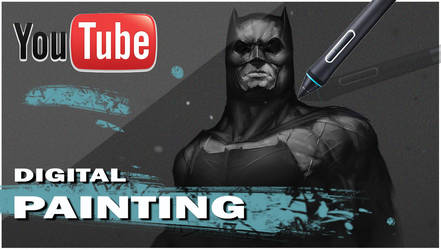 Batman Youtube Timelapse by AlexDRomero
