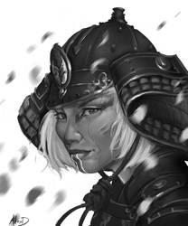 She Samurai by AlexDRomero