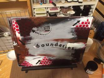 Boundaries  by littlepainter1