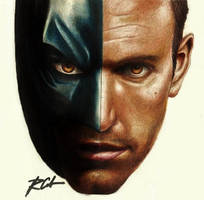 Ben Affleck the Batman by rommeldrawlines-12