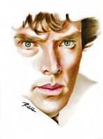 Sherlock by rommeldrawlines-12