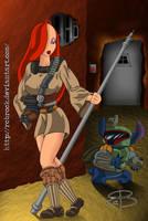 Jessica Skywalker-BountyHunter by RCBrock