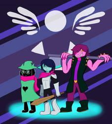 Delta Rune: The Fun Squad by Teenbear0103