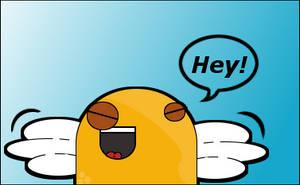 Hey by SkinnersArt