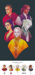 Cosmere - Magic Users from Sel (Ver. 1.0) by BotanicaXu