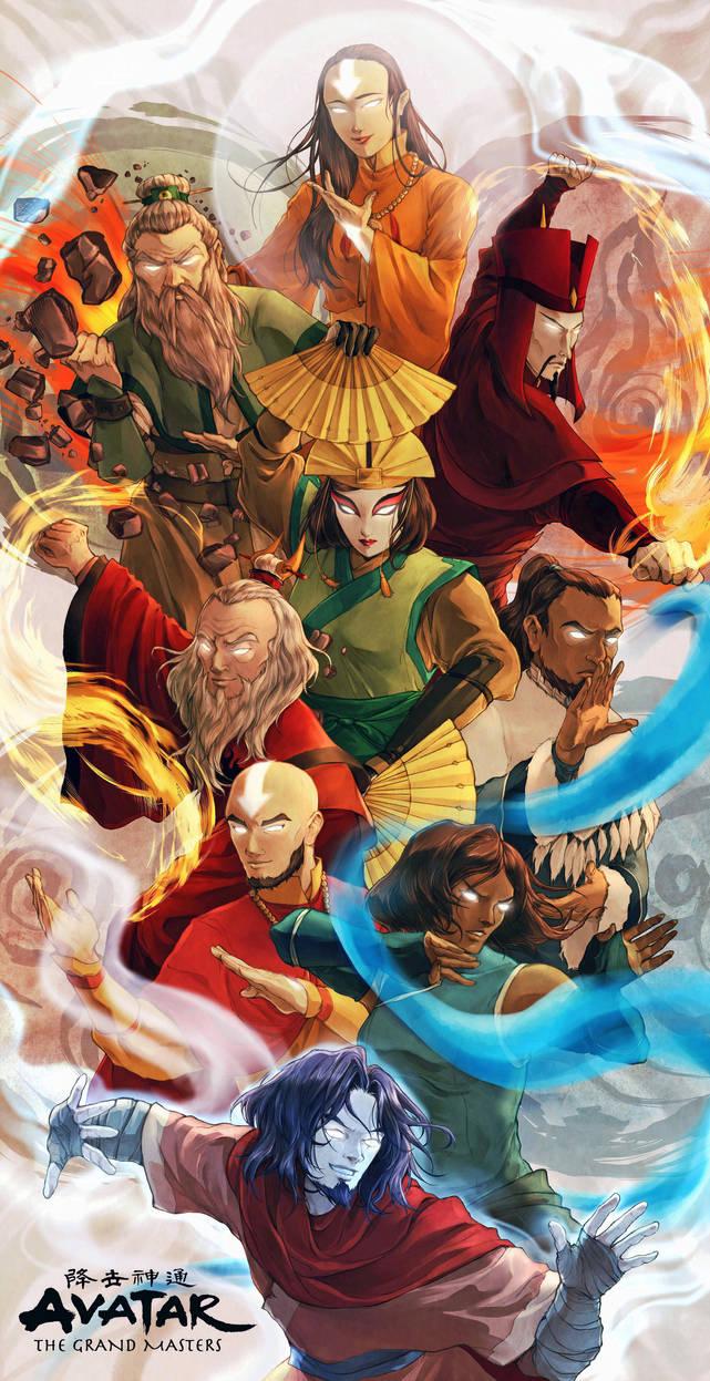 Avatar - The Grand Masters by BotanicaXu