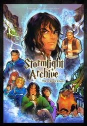 Stormlight Archive x Harry Potter Parody Poster by BotanicaXu