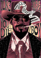 Django Unchained Poster by eosvector