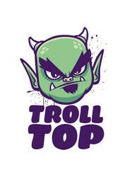 Troll Top Logo by chipza