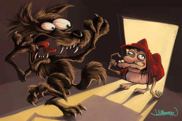 little red ridding hood by Jamesonarts