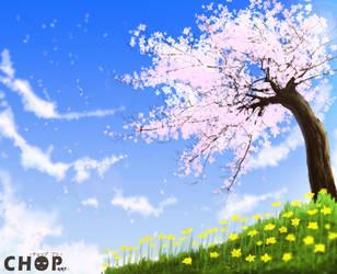 Sakura Tree by piecetou