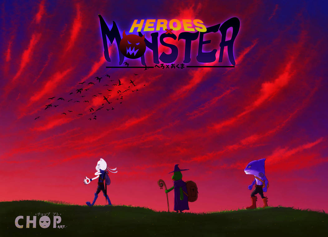 HERO X MONSTER Journey with friend by piecetou
