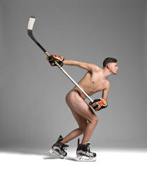 Icehockeyplayer by Ewoud57