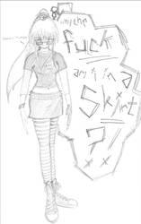 ryoko from flying koi. by xyr