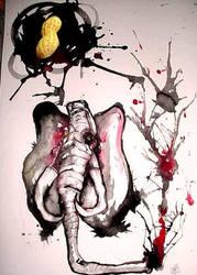 an elephant for ralph by yourliquidtangerine