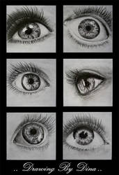 eyes expressions by Dina-n1