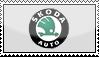 Skoda Stamp by walid2687