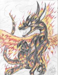 Fire Dragon by Dragon-venom
